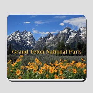 Personalizable Photo Souvenir Grand Teto Mousepad