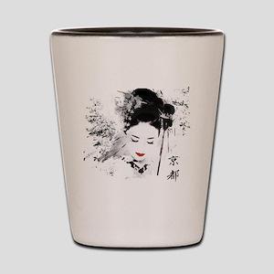 Kyoto Geisha Shot Glass