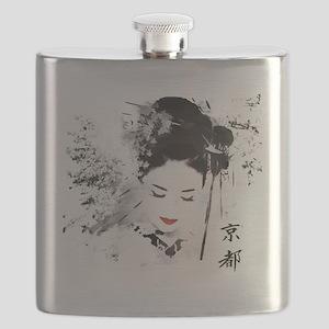 Kyoto Geisha Flask