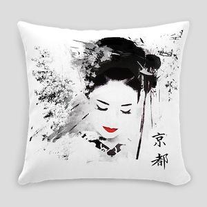 Kyoto Geisha Everyday Pillow