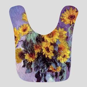 Bouquet of Sunflowers by Claude Monet Bib