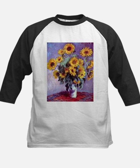Bouquet of Sunflowers by Claude Mo Baseball Jersey