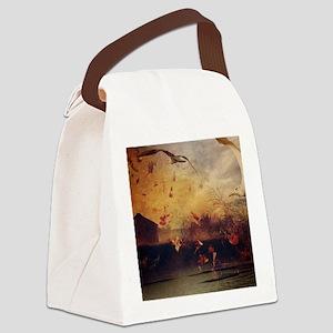 modern art Canvas Lunch Bag