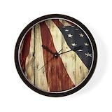 Patriotic Wall Clocks