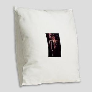 friesian ii Burlap Throw Pillow