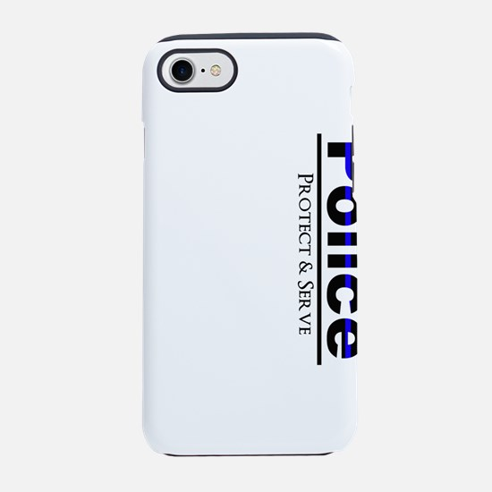 Police Protect and Serve iPhone 8/7 Tough Case