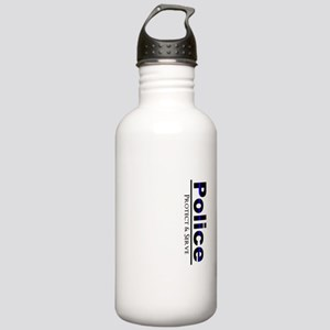Police Protect and Serve Water Bottle