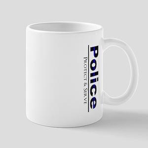 Police Protect and Serve Mugs