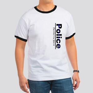 Police Protect and Serve T-Shirt