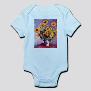 Bouquet of Sunflowers by Claude Monet Body Suit