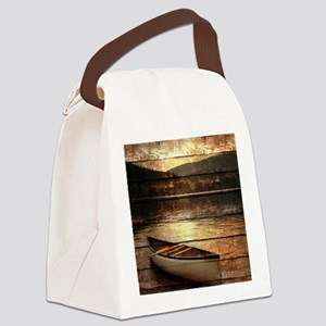 rustic Canvas Lunch Bag