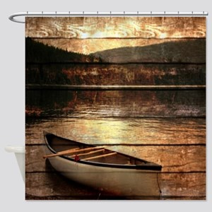 rustic Shower Curtain