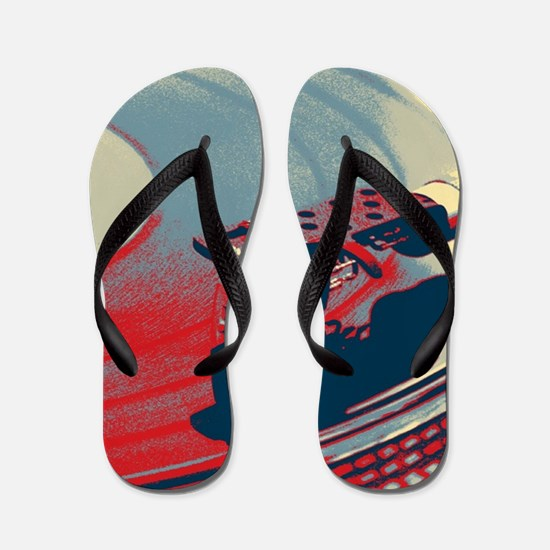 rustic Flip Flops