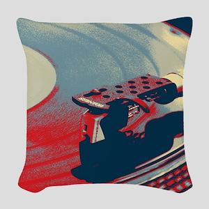 rustic Woven Throw Pillow