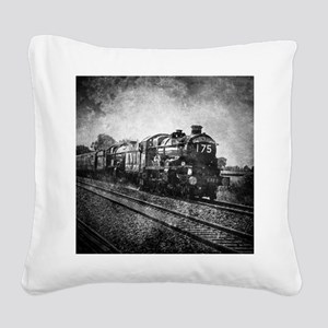 rustic Square Canvas Pillow