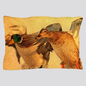 western country Mallard Duck Pillow Case