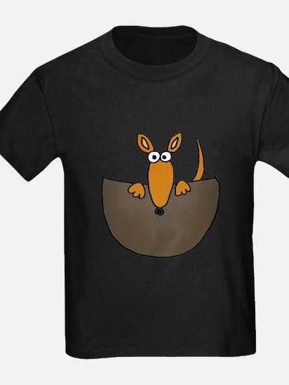Baby Kangaroo in Pouch T-Shirt
