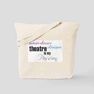 Theatre Passion Tote Bag