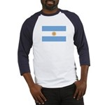 Flag of Argentina Baseball Jersey