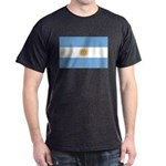 Flag of Argentina Dark T-Shirt