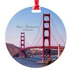 San Francisco Round Ornament