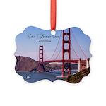 San Francisco Picture Ornament