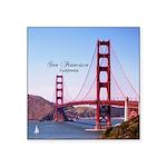 """San Francisco Square Sticker 3"""" x 3"""""""