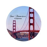 "San Francisco 3.5"" Button (100 pack)"