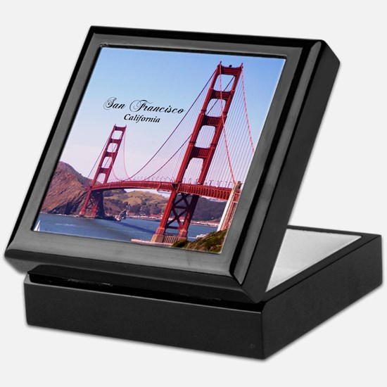 San Francisco Keepsake Box