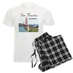 San Francisco Men's Light Pajamas