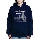 San Francisco Women's Hooded Sweatshirt