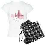 San Francisco Women's Light Pajamas