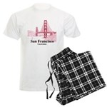 San Francisco Men's Light Pajamas