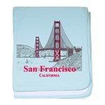 San Francisco baby blanket