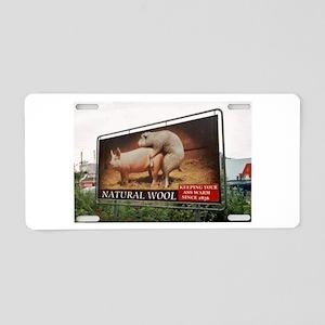 AMERICAN APPRENTICE -KEEPIN Aluminum License Plate