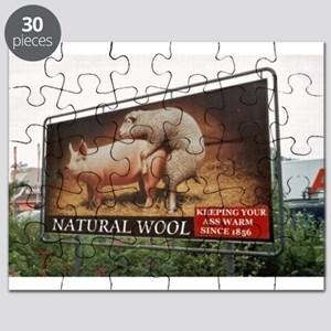 AMERICAN APPRENTICE -KEEPING YOUR ASS WARM! Puzzle