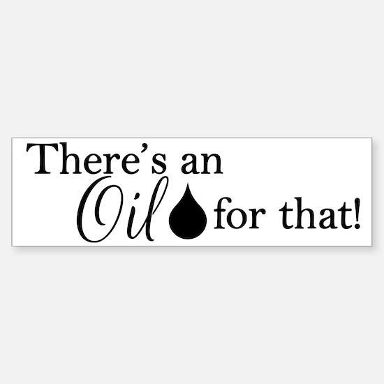 Oil for that bk Sticker (Bumper)
