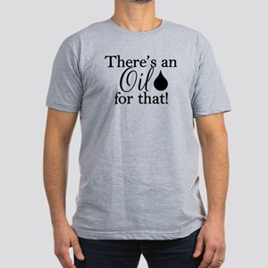 Oil For That Bk Men's Fitted T-Shirt (dark)