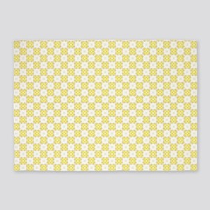 Cute Trendy Pattern Background 5'x7'Area Rug