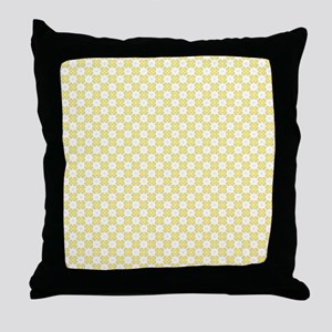 Cute Trendy Pattern Background Throw Pillow