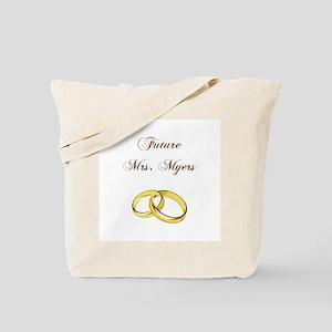 FUTURE MRS. MYERS Tote Bag