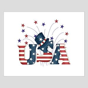 USA Fireworks Small Poster