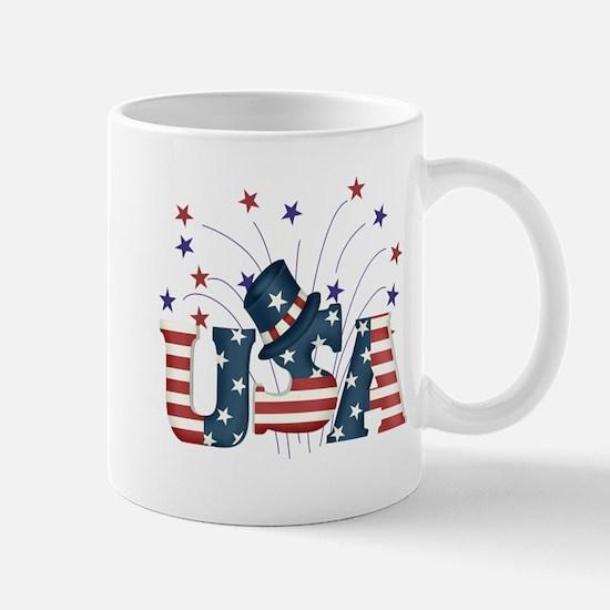USA Fireworks Mug
