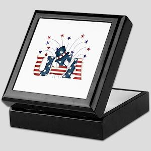 USA Fireworks Keepsake Box