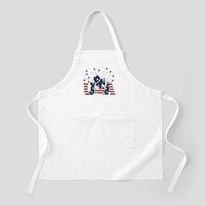 USA Fireworks BBQ Apron