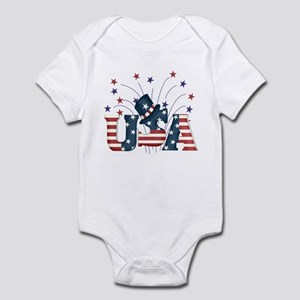 USA Fireworks Infant Bodysuit