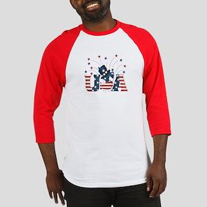 USA Fireworks Baseball Jersey
