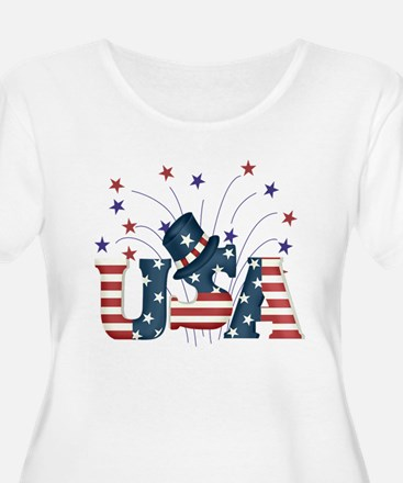 USA Fireworks T-Shirt