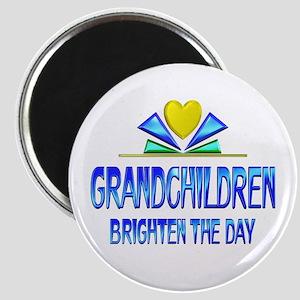 Grandchildren Brighten the Day Magnet