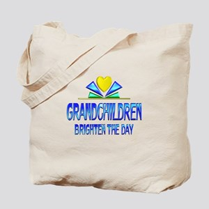 Grandchildren Brighten the Day Tote Bag